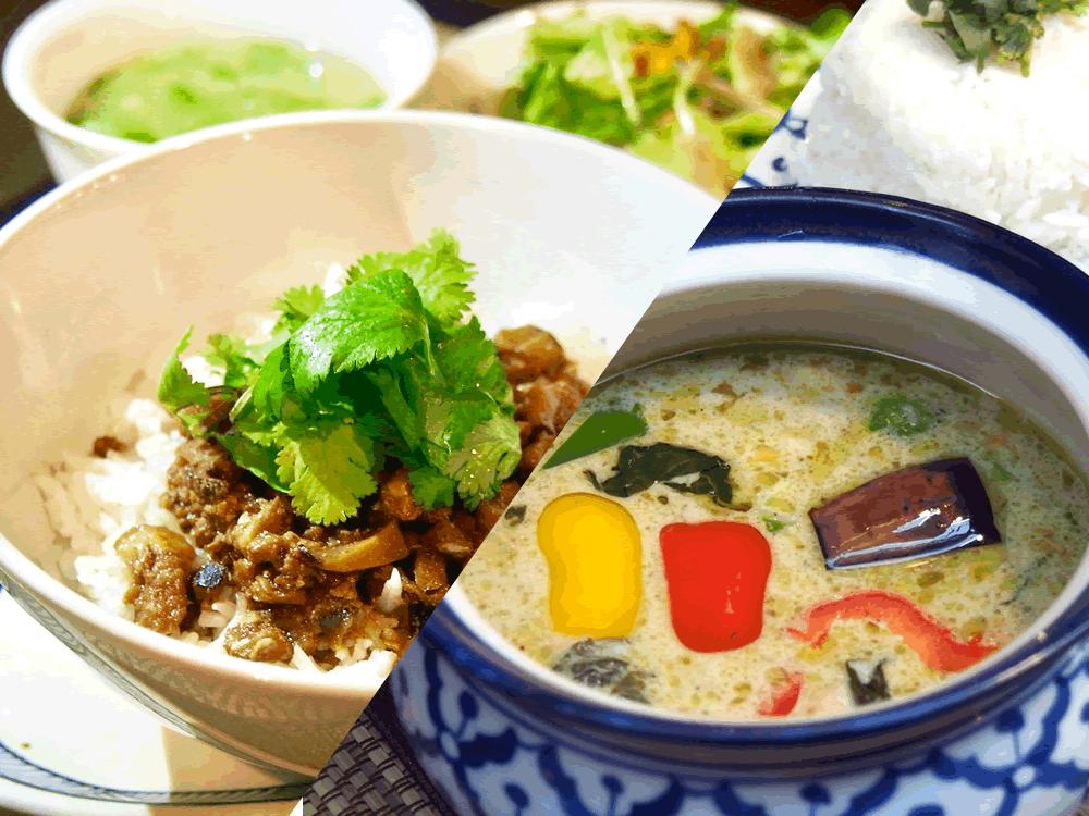 グリーンカレー・魯肉飯